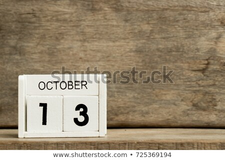 october  13 International Day for Disaster Stock photo © Olena