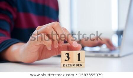 Cubes 31st December Stock photo © Oakozhan