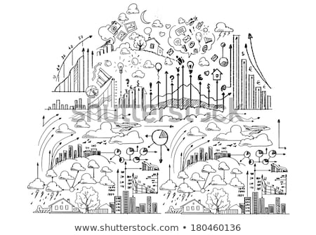 Business Project Drawn on White Wall.  Stock photo © tashatuvango
