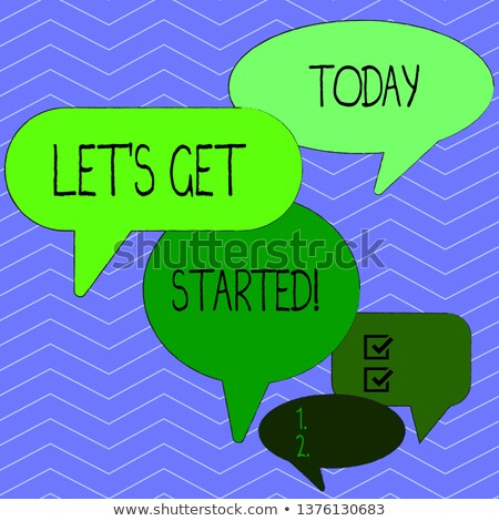 Many words starting with get Stock photo © bluering