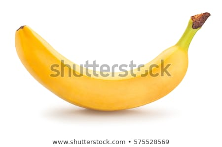 raw peeled banana isolated on white background    Stock photo © LightFieldStudios