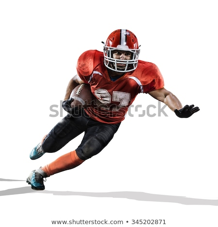 American football player cut out Stock photo © RTimages