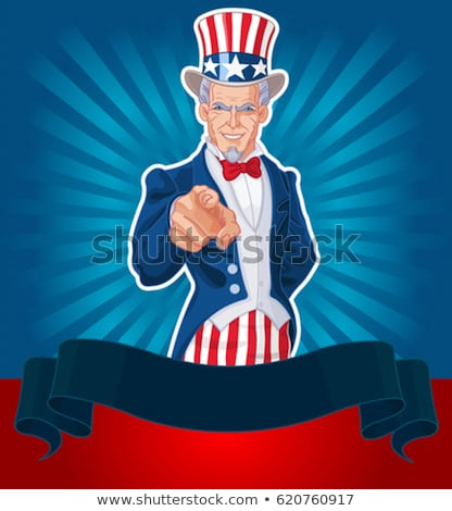 Uncle Sam Celebrates the Fourth of July stock photo © AlienCat