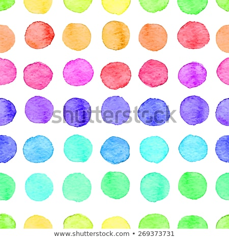Abstract hand drawn watercolor splashes and dots texture. Colorful multicolor blot in grunge style.  Stock photo © kollibri