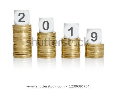 novo · euro · moedas · negócio · assinar - foto stock © zerbor
