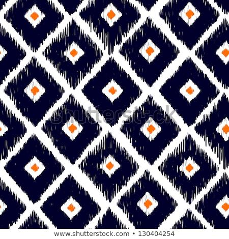 Tribal · zwart · wit · vector · naadloos · ornament - stockfoto © lissantee