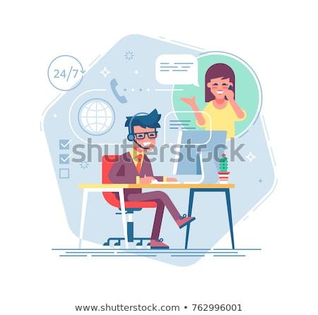 Consultative sales concept vector illustration. Stock photo © RAStudio