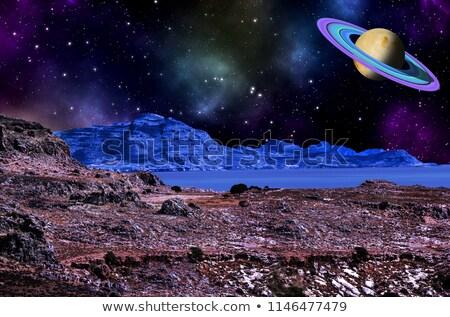 Beaucoup planète surface illustration texture fond Photo stock © colematt