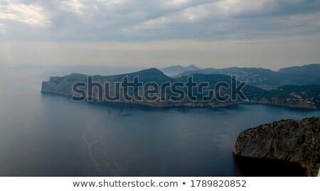 Avião aterrissagem acima mallorca ilha Espanha Foto stock © amok