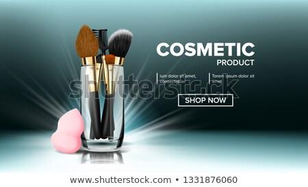 バナー ベクトル 化粧品 美 ツール ストックフォト © pikepicture