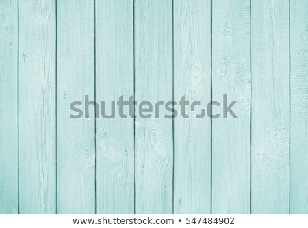 Old wooden background with vertical boards painted in blue stock photo © bogumil