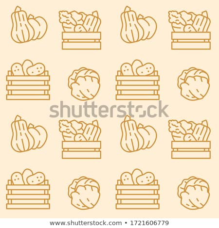 Seamless background from a set of wooden boxes, vector illustration. Stock photo © kup1984