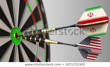 Iran United States Crisis Stock photo © Lightsource