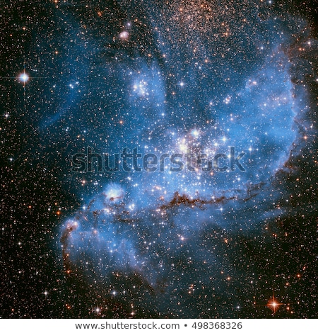 The Small Magellanic Cloud is a dwarf galaxy near the Milky Way. Stock photo © NASA_images