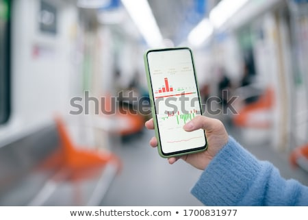 Business Graph Mobile Phone  stock photo © kbuntu