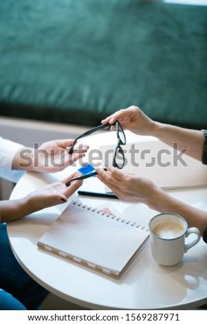 młodych · lekarza · pary · okulary · zdrowia · okulary - zdjęcia stock © pressmaster