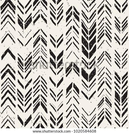Noir grille texture grunge dessinés à la main doodle lignes Photo stock © kyryloff