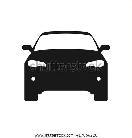 Autó egyszerű illusztráció modern autómobil sziluett Stock fotó © Andrei_