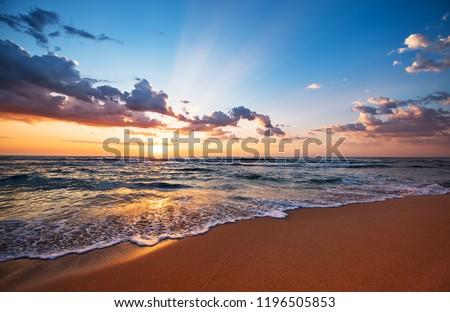 Tenerife sunset Stock photo © chris2766