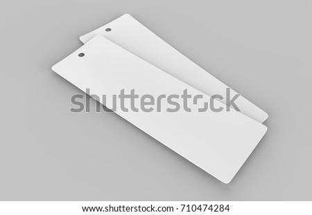 Könyvjelző vázlat 3d illusztráció izolált fehér oktatás Stock fotó © montego