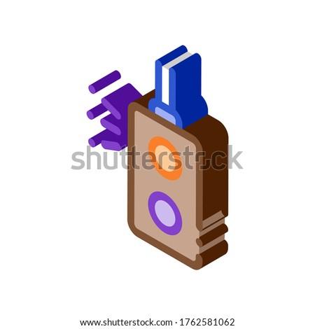 Couleur lumière signal isométrique icône vecteur Photo stock © pikepicture