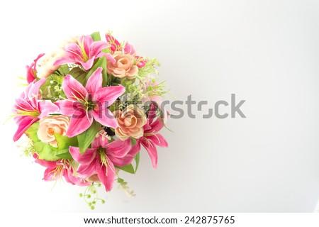 gyönyörű · színes · virágcsokor · fából · készült · kosár · autó - stock fotó © vichie81
