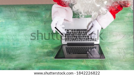 Senior business man making online purchase with his credit card Stock photo © get4net