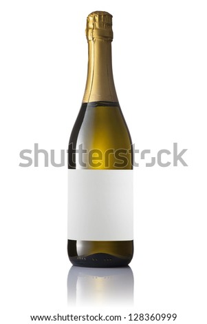 Sparkling wine blank bottles with labels Stock photo © sumners