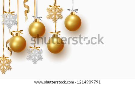 Gold Christmas Ball Stock photo © derocz
