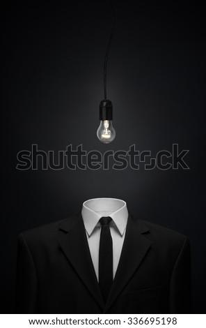 yanan · beyin · siyah · ışık · tıp · gece - stok fotoğraf © hasloo