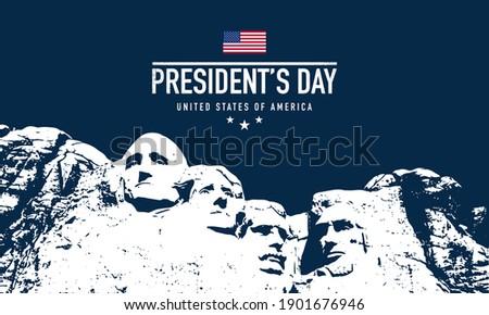 Presidente día Estados Unidos América bandera ola Foto stock © bharat