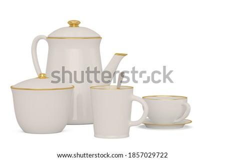 Kitchen utensils set Stock photo © stokkete