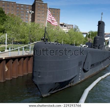 Podwodny jezioro wojskowych parku Nowy Jork Nowy Jork Zdjęcia stock © bmonteny