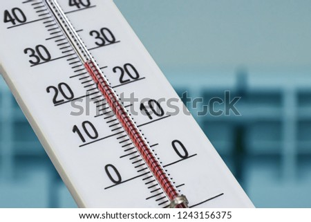 Fotoğraf ev alkol termometre Stok fotoğraf © inxti