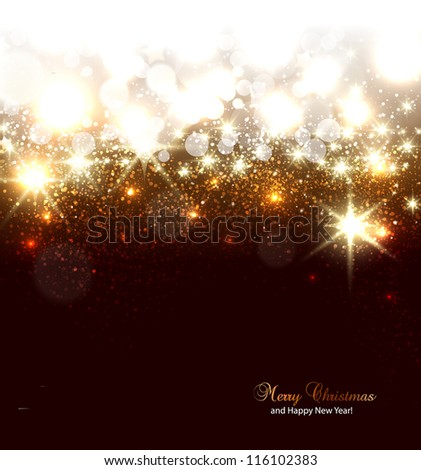 Frosted window and champagne, winter background, vector illustration Stock photo © carodi