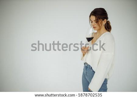 красный · футболки · изолированный · белый · моде · дизайна - Сток-фото © sumners