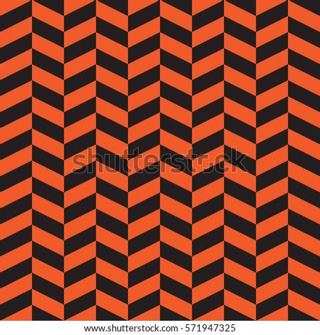chevron pattern orange neutral seamless pattern for modern desi stock photo © almagami