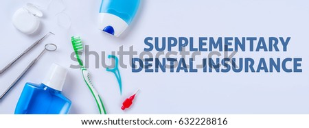 oral care products on a light background   supplementary dental stock photo © zerbor
