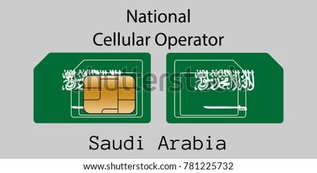 bandeira · Arábia · Saudita · textura · verde · silhueta · asiático - foto stock © leo_edition