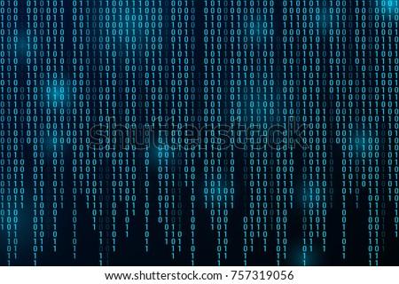 Código binario vector algoritmo binario datos código Foto stock © pikepicture