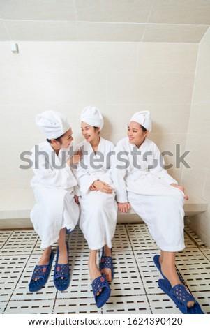 три · ванную - Сток-фото © monkey_business