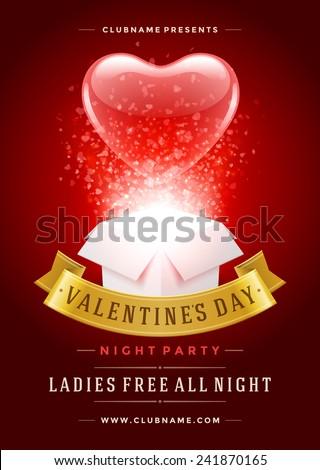 san · valentino · rosa · a · forma · di · cuore · amore · carta · felice - foto d'archivio © articular
