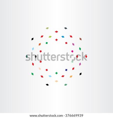 красочный частицы лет круга движения Сток-фото © blaskorizov