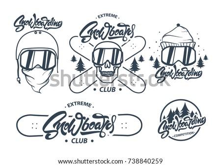 chłopca · narciarskie · narzędzi - zdjęcia stock © jeksongraphics