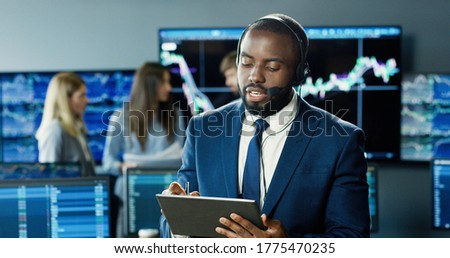 business team trader or broker investment entrepreneur colleague stock photo © snowing