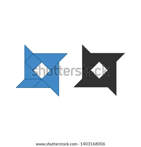 星 伝統的な 中国語 パズル 7 ストックフォト © kyryloff