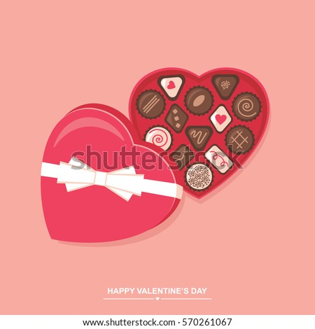 Herzform Schokolade Feld Papier Liebe Stock foto © Lopolo