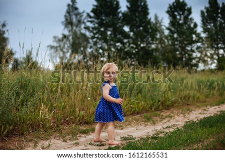 12 éves lány mezítláb mező kicsi ló Stock fotó © ElenaBatkova