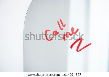 Lustra połączenia napisany czerwony Zdjęcia stock © pressmaster