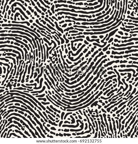 Vektor végtelen minta monokróm organikus formák textúra Stock fotó © samolevsky